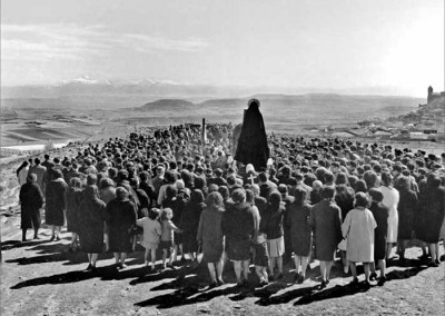 Procesión de los disciplinantes en San Vicente de la Sonsierra (La Rioja)
